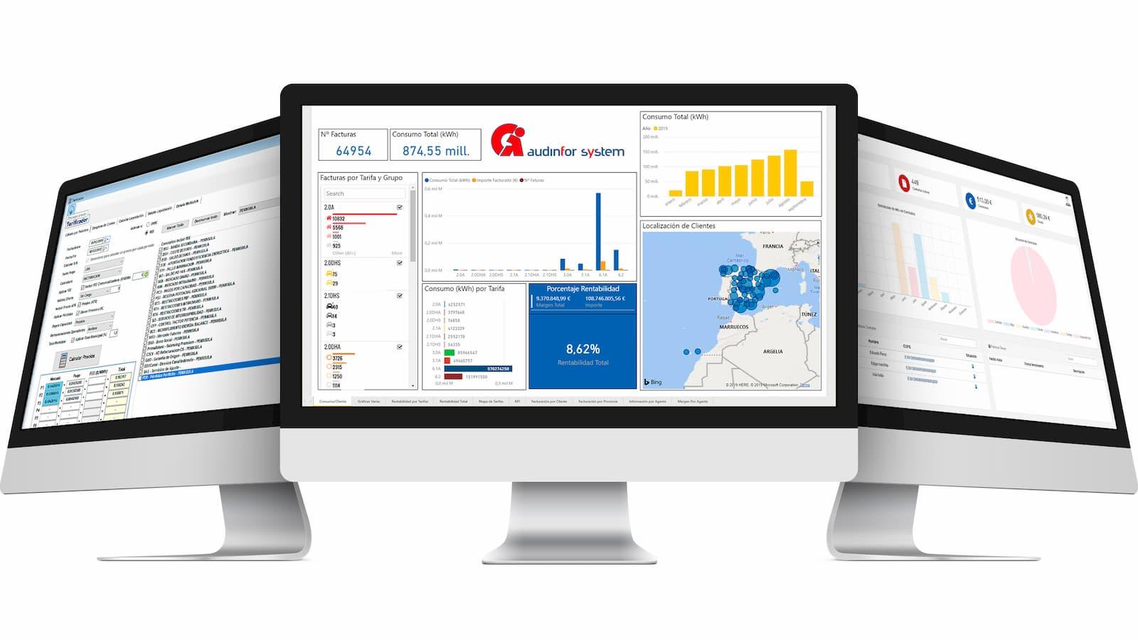 SIGE, software para comercializadora de electricidad y gas