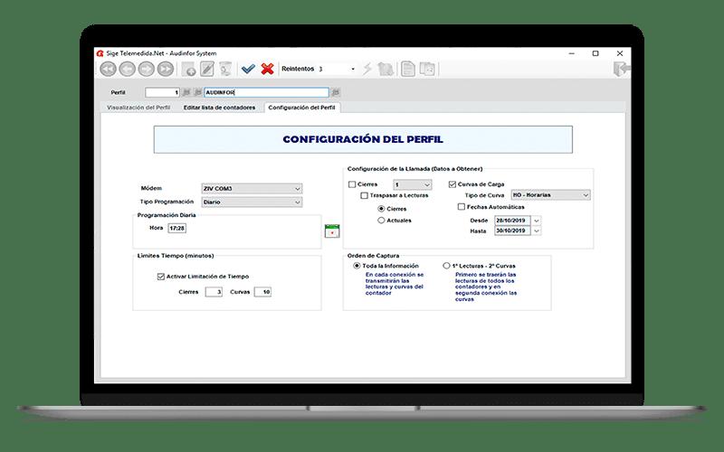 Software de audinfor system para comercializadoras de energia